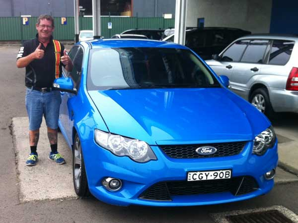 Anthony - Falcon XR6